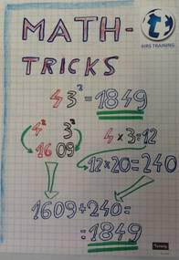 Math-tricks 2, IHRS-Training